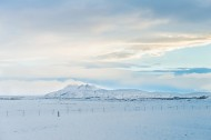 北欧冰岛冰天雪地风景图片(10张)