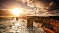 澳大利亚维多利亚州十二使徒岩图片(11张)