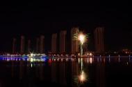 黑龙江齐齐哈尔大学夜景图片(7张)