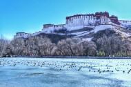 西藏拉萨冬季风景图片(9张)