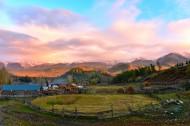 新疆白哈巴村风景图片(12张)