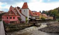 捷克克鲁姆洛夫城堡风景图片(15张)