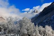四川双桥沟冬季风景图片(17张)