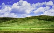 新疆巴音布鲁克草原风景图片(12张)
