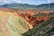 新疆努尔加大峡谷风景图片(14张)