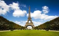 法国埃菲尔铁塔风景图片(9张)