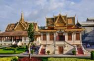 柬埔寨金边王宫风景图片(18张)