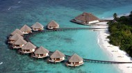马尔代夫海滩风景图片(13张)