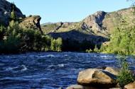 新疆额尔齐斯河源头风景图片(10张)