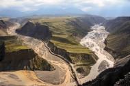 新疆乌苏大峡谷风景图片(11张)