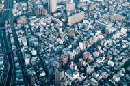 日本东京城市风景图片(12张)