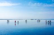 青海茶卡盐湖风景图片(14张)