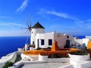非洲突尼斯西迪布萨义德梦幻蓝白小镇图片(15张)