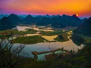 云南普者黑绝美风景图片(16张)