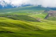 新疆天山牧场风景图片(15张)