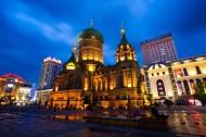 哈尔滨索菲亚教堂图片(17张)