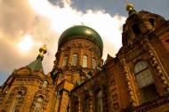 哈尔滨索菲亚大教堂图片(24张)