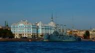 俄罗斯圣彼得堡涅瓦河风景图片(13张)