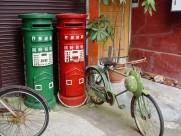 街角的老邮筒图片(12张)