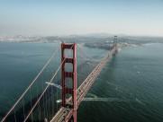 美国金门大桥图片(13张)