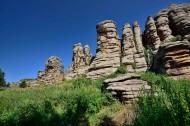 内蒙古阿斯哈图石林风景图片(24张)