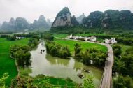 广西明仕田园风景图片(6张)