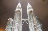 马来西亚吉隆坡石油双塔图片(14张)