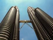 马来西亚吉隆坡石油双塔图片(12张)
