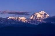 尼泊尔道拉吉里峰风景图片(11张)