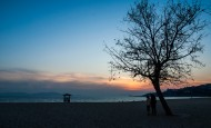 山东青岛海滨冬日风景图片(9张)