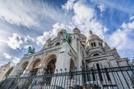 建筑风格独特的法国圣心大教堂图片(14张)