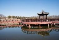 北京圆明园福海风景图片(8张)