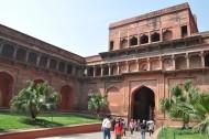 印度阿格拉红堡风景图片(16张)