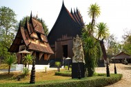泰国清莱黑庙图片(13张)