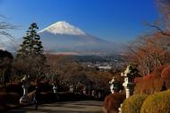 日本富士山风景图片(8张)