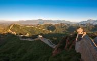 河北金山岭长城风景图片(10张)