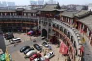 河南洛阳丽景门风景图片(9张)