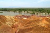 新疆五彩滩风景图片(12张)