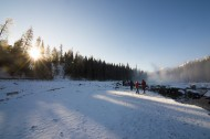 新疆禾木冬季雪景图片(17张)
