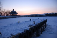 北京颐和园雪景图片(17张)