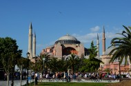 土耳其索菲亚大教堂风景图片(10张)