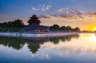 北京故宫角楼日落风景图片(11张)