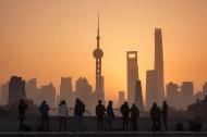 上海魔都的日出风景图片(12张)