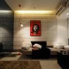 绿韵康城16号E户型室内设计图片(7张)