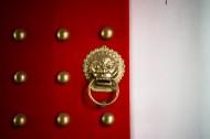 复古狮子门把手图片(9张)