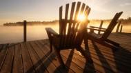 休闲的木椅图片(16张)