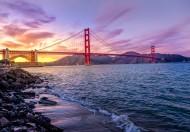 雄伟的美国旧金山金门大桥图片(21张)