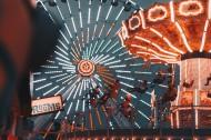 游乐园里的摩天轮图片(12张)