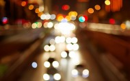 迷离的城市灯光和璀璨的城市夜景图片(22张)