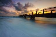海面上的桥图片(11张)